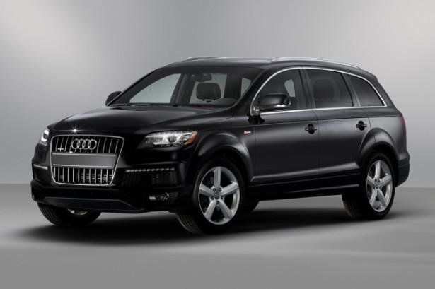 Audi Q7 чёрная
