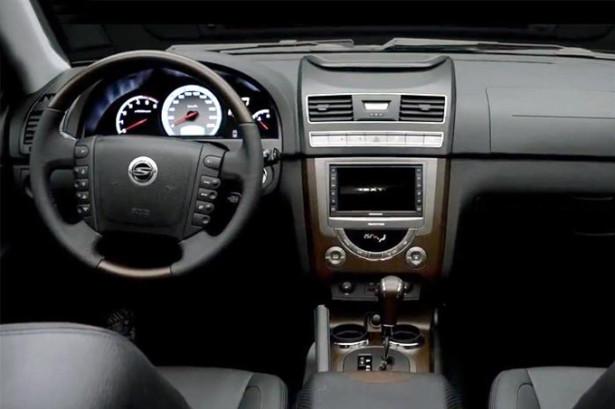 SsangYong Rexton - рулевое управление и панель