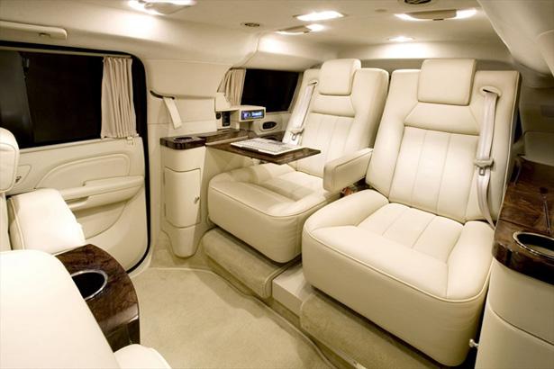 Cadillac Escalade - места для пассажиров