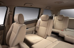 Chery CrossEastar B14 - пассажирские места и раскладывание сидений