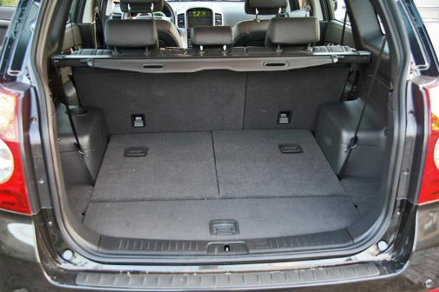 Chevrolet Captiva - багажник