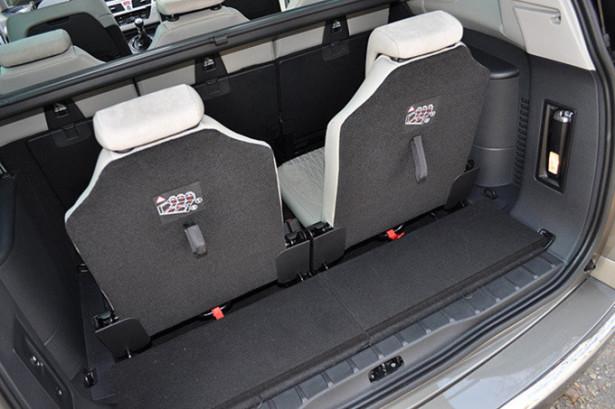 Chevrolet Orlando - багажник