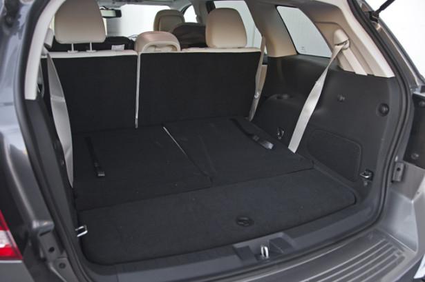 Dodge Journey - багажник