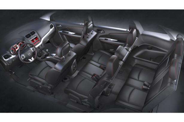 Dodge Journey - салон 7-местного автомобиля