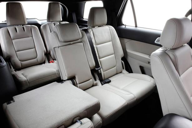 Салон Ford Explorer - складываем сиденья
