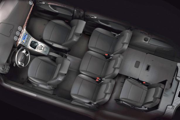 Ford Galaxy - 7 мест в салоне