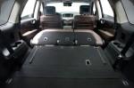 Инфинити JX - сложенные сиденья и багажник