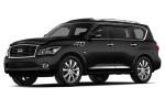 Infiniti QX80 - чёрный цвет автомобиля
