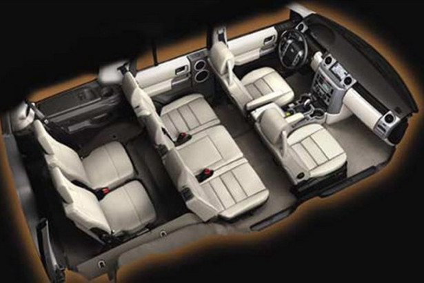 Land Rover Discovery 4 - 7 мест в салоне