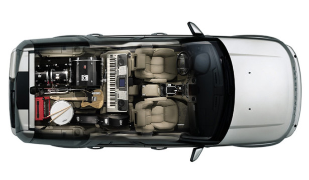 Land Rover Discovery 4 - в салоне