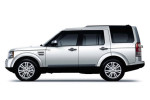 Land Rover Discovery - вид сбоку