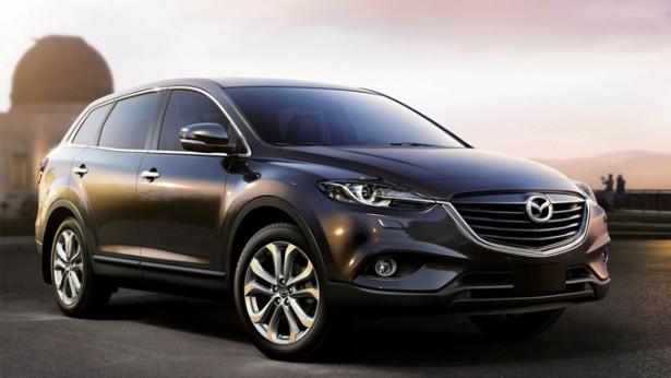 Mazda CX-9 - чёрный цвет