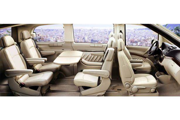 Mercedes-Benz Viano - комплектация с роскошным салоном