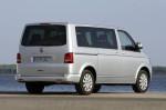 VW Multivan - вид сзади