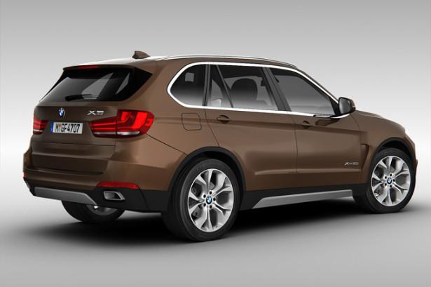BMW X5 вид сзади