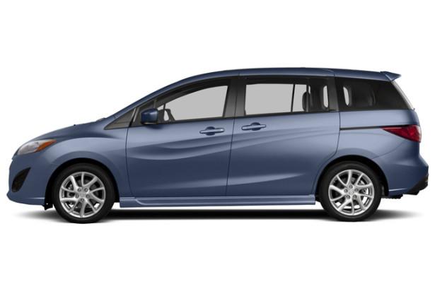 Mazda 5 - вид сбоку