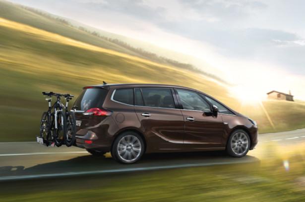 Opel Zafira Tourer - перевозка велосипедов