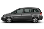 Opel Zafira Family - вид сбоку