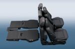 Opel Zafira Family - как можно сложить сиденья, увеличив объём багажника