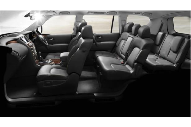 Nissan Patrol - 7-местный салон