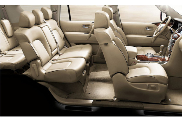 Nissan-Patrol - 7 мест в автомобиле