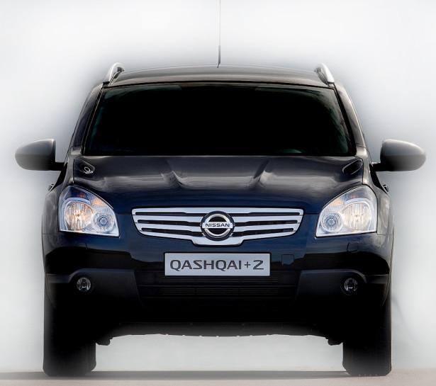 Nissan Qashqai+2 - вид спереди