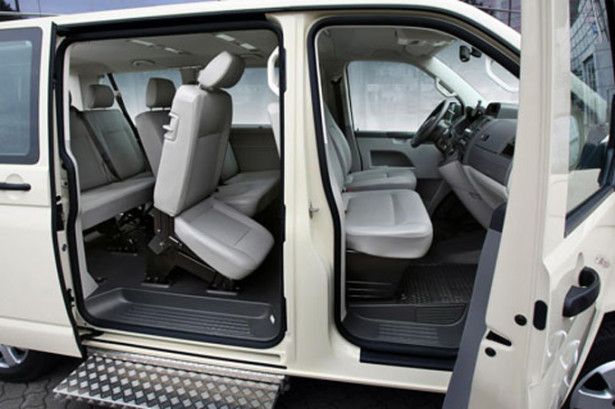 Volkswagen Caravelle внутри салона