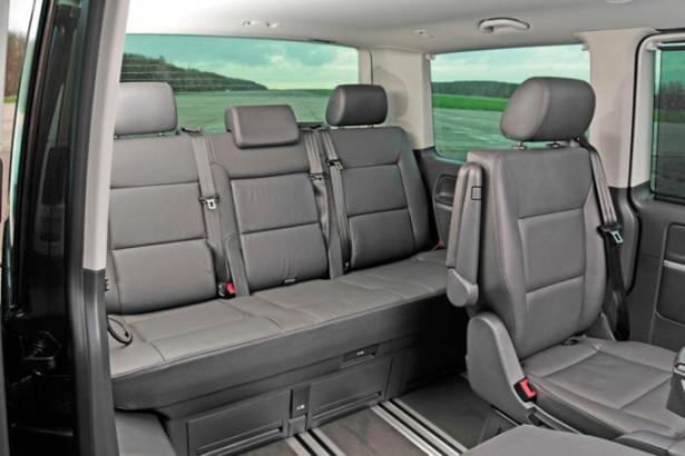 Volkswagen Caravelle - 3-ий ряд сидений