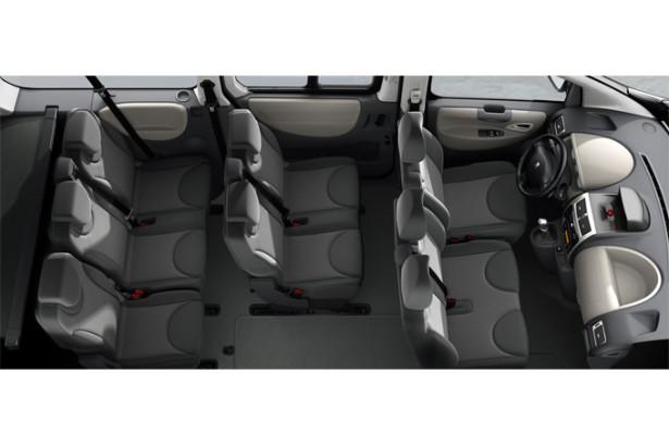Peugeot Expert Tepee - 9 мест внутри салона
