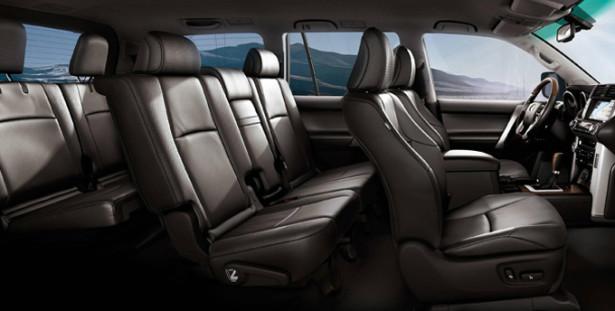 Toyota Land Cruiser Prado - 7 мест в салоне