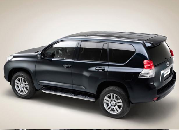 Toyota Land Cruiser Prado - вид сбоку