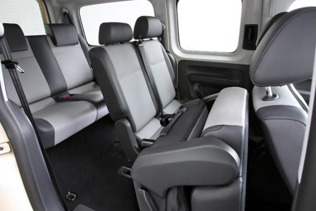 Volkswagen Caddy Maxi - 7 мест в салоне