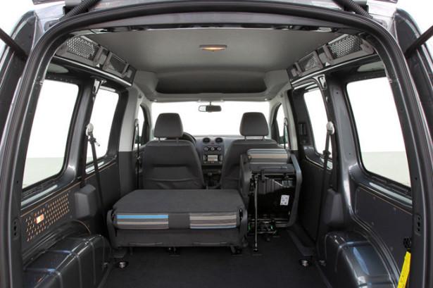 Volkswagen Caddy Maxi - багажное отделение