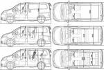 Nissan NV200 - схема