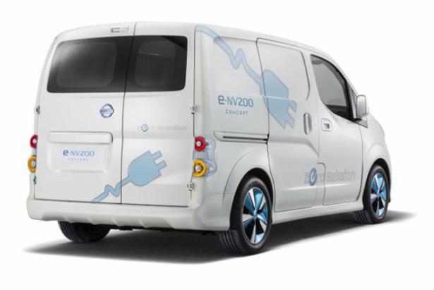 Электроминивэн Nissan e-NV200