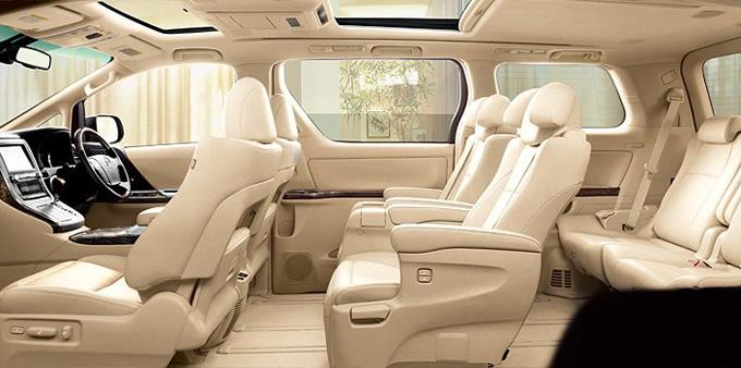 Toyota Alphard роскошный 7 местный минивэн