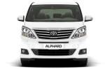 Toyota Alphard - вид спереди