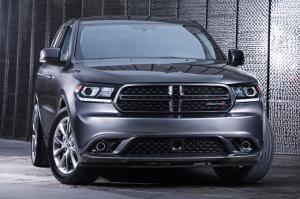 Dodge Durango - вид спереди