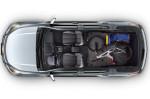 Chevrolet Trailblazer 2013 - сложенные сиденья т большое багажное отделение