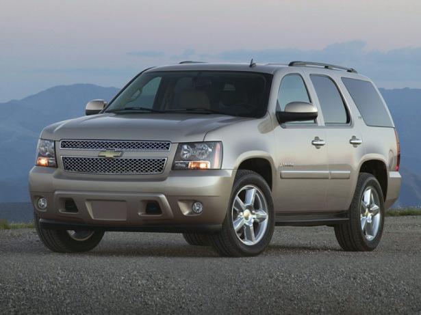 Внедорожник Chevrolet Tahoe вместительностью 7 мест