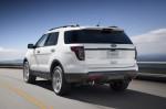 Ford Explorer - вид сзади