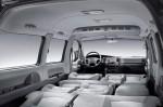 Hyundai H1 - разложенные сиденья в салоне