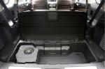 Infiniti JX - в багажнике