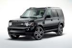 Land Rover Discovery 4 - чёрный автомобиль