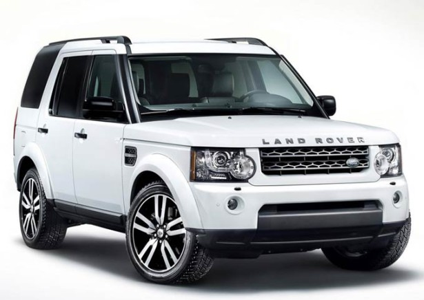 Land Rover Discovery 4 - белый цвет