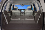 Багажник со сложенными сиденьями Lexus GX 460