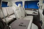 Лексус GX 460 - раскладывание сидений в салоне