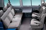 Volkswagen Multivan в салоне с раскладным столиком