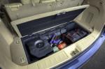 Nissan Pathfinder - в багажнике