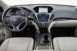 Acura MDX - водительское место и оснащение